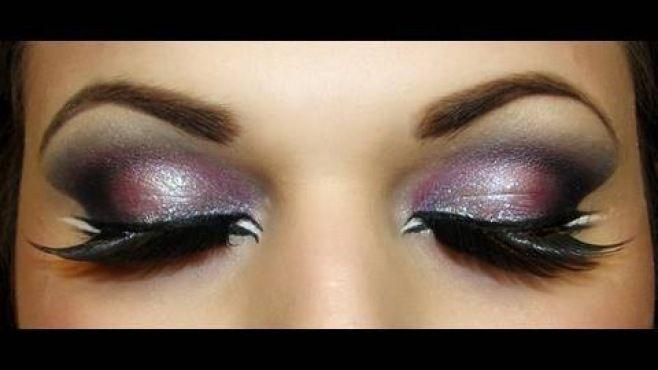 Egzotik Arap Dumanlı Göz Makyajı Tekniği - Özel günler veya gece için uygulayabileceğiniz egzotik arap dumanlı göz makyajı yapımı (Exotic Arab Makeup Video)