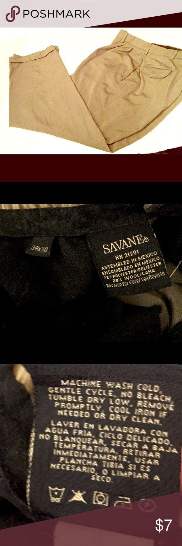 Men's office work pants📌📎 Used work pants in good shape 👨🏻💻38x30 savane Pants Dress
