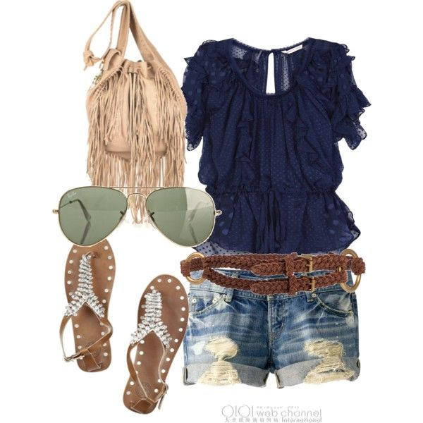 Casual summer outfit: Casual Outfit, Summer Looks, Clothing Accessories, Cute Summer Outfit, Clothing Outfit, Country Looks, Casual Summer Outfit, Summer Clothing, Bags