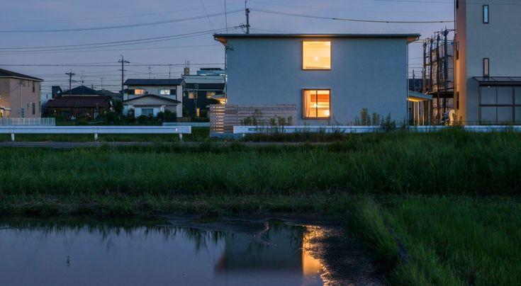 Natsuo Yoshida . House in Kuramae . Gifu (3)