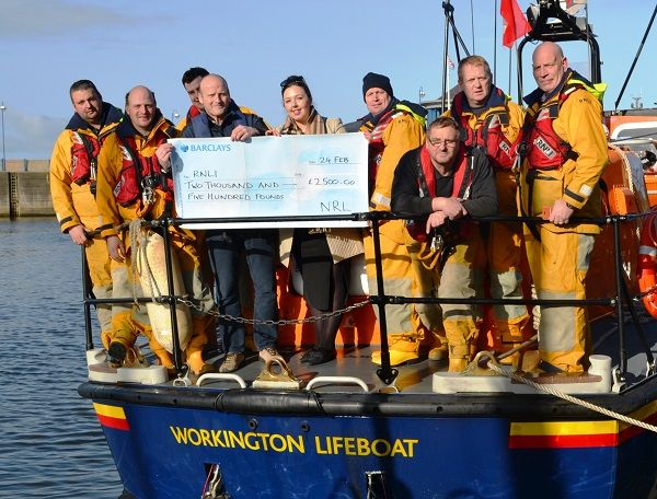NRL Group donate to Workington RNLI Lifeboat Appeal http://www.cumbriacrack.com/wp-content/uploads/2017/02/NRL-presents-donation-to-RNLI-Workington-Appeal.jpg NRL Group is supporting the RNLI's Workington Shannon Class lifeboat appeal with a donation of £2,500    http://www.cumbriacrack.com/2017/02/28/nrl-group-donate-workington-rnli-lifeboat-appeal/