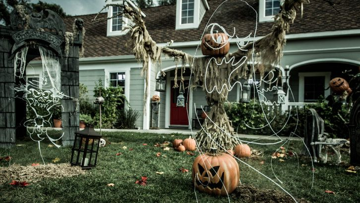 How To: Halloween Ghosts | Paige Hemmis
