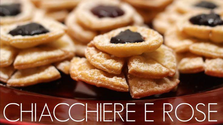 Ricetta chiacchiere e rose di carnevale by ItalianCakes