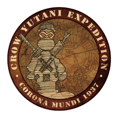 Fanhunter: Las Montañas de la Locura. -Expedition Badge- 1937.