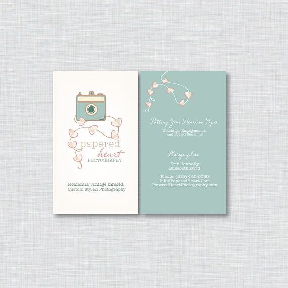 Professional Business Card Design  Custom OOAK Business by amber84, $75.00