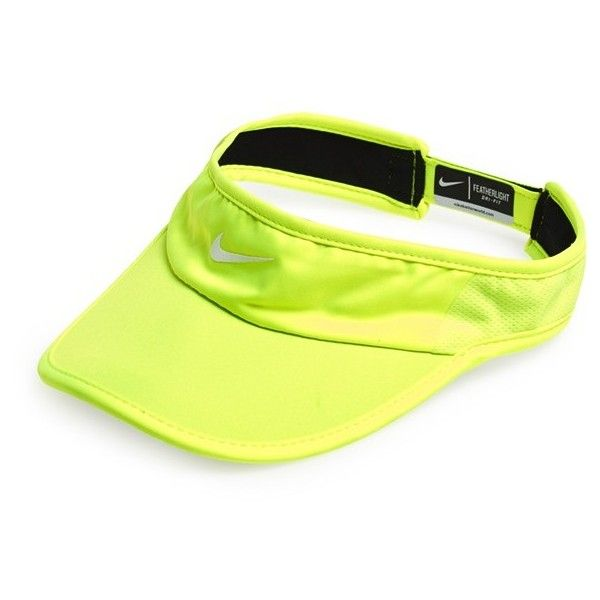 Nike 'Feather Light 2.0' Dri-FIT Visor ($22) ❤ liked on