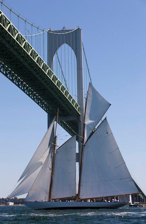 Newport bridge, Newport, Rhode Island.
