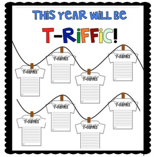 "What the Teacher Wants!: This year will be T-Riffic! (could do - ""I'm looking forward to..."")"