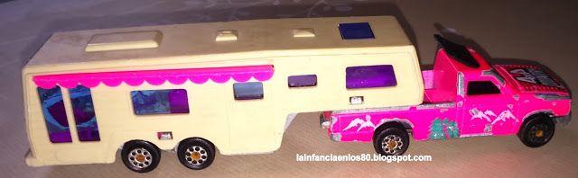 La infancia en los 80...: Coche camping car deluxe, Majorette