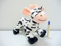 boneka zebra lucu