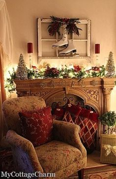 I want to sit in this chair and have a warm beverage.
