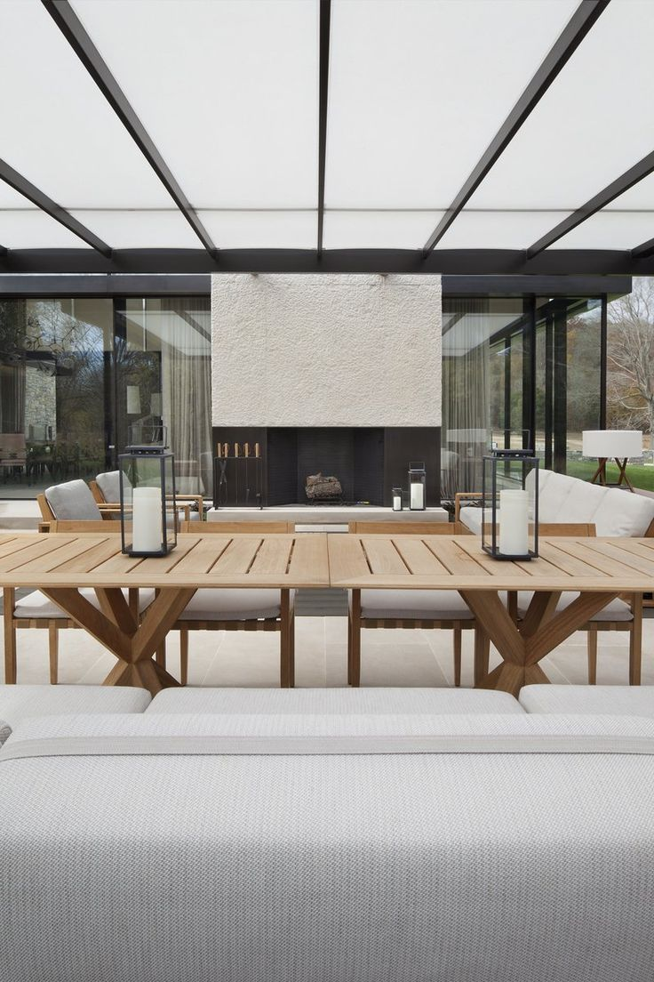 Modern Patio and Deck in Nashville, TN by Meyer Davis