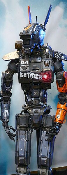 It would be so cool to cosplay as Chappie!