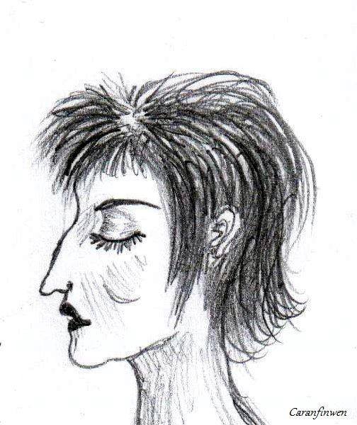 Rossy de Palma (by Caranfinwen)  #Rossy #Palma #Almodovar #Spain #caricatures