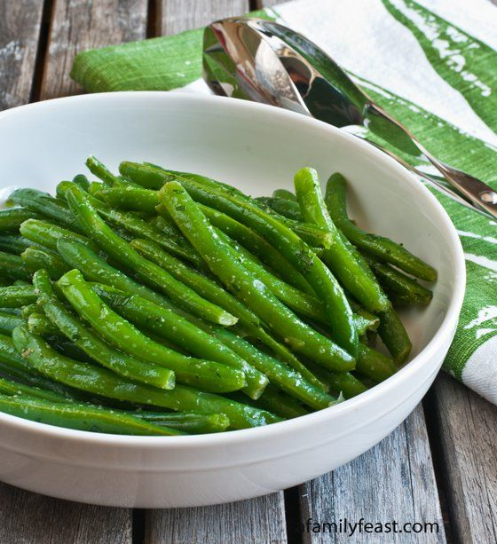 how to clean fresh picked green beans