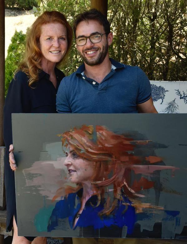 Christian Hook, Sky Portrait Artist of the Year 2015