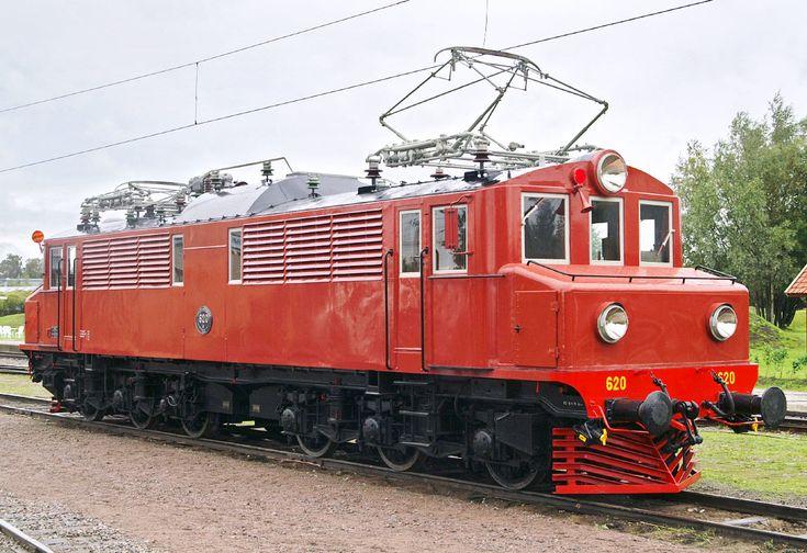 Bild: Mg 620 som museilok i Gävle 2006