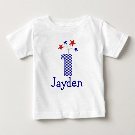 Customizable Firecracker First birthday shirt 1 yr - click to get yours right now!