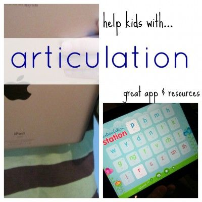 help kids with articulation --> this app is a life-changer for kids with speech problems or difficulty with articulation. not joking