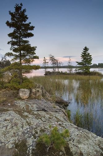 Cranberry Bay, Rainy Lake, Voyageurs National Park, Minnesota