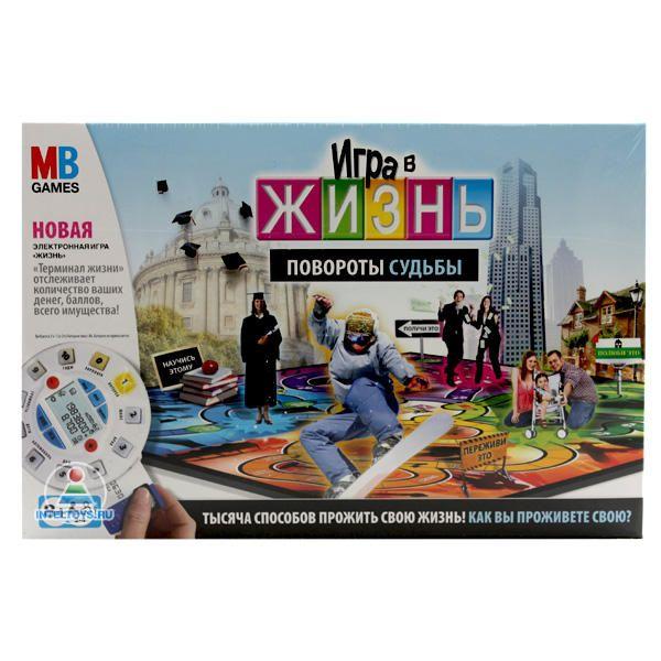 Настольная игра «Игра в жизнь. Повороты судьбы» (MB Games)