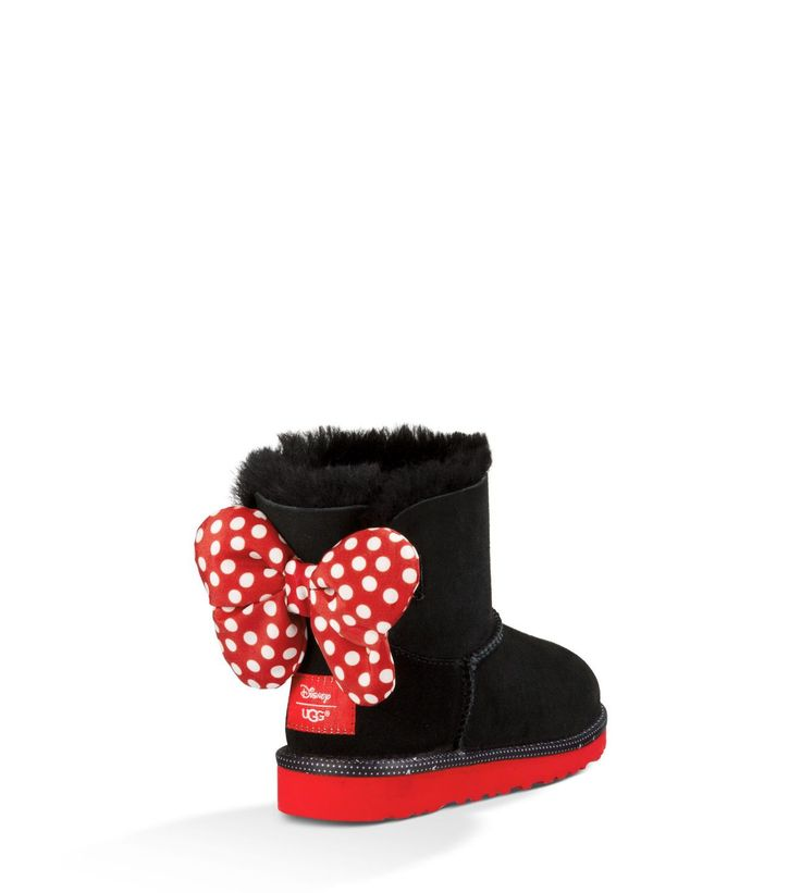 I ABSOLUTELY HAD to get these for baby girl!! Minnie uggs for my sweet girl! These will be so cute when we go to Disneyland!