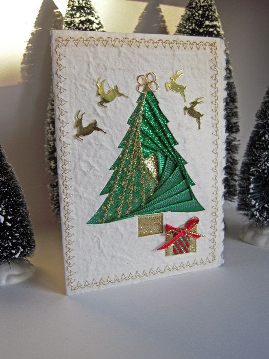 Christmas+Tree+Card++Iris+Folding+of+by+warmtouchcreations+on+Etsy,+$7.00