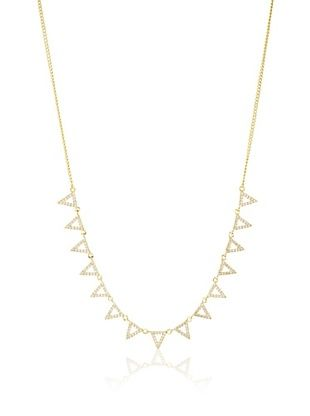Walter Baker Jewelry Golden Multiple Triangle Necklace