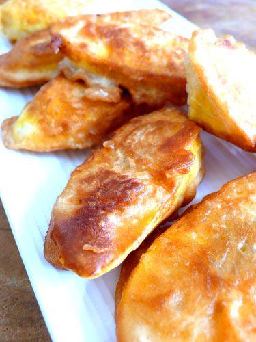 Indonesian Food. Pisang Goreng. Banana Fritters