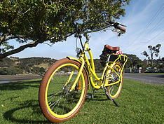 We rent out and sell electric-assist bikes (e-Velos) on Waiheke Island