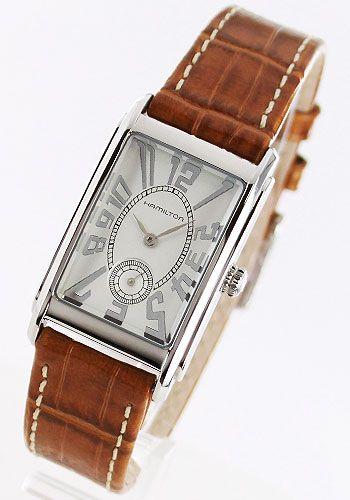 ハミルトン+アードモア+レザー+ライトブラウン/シルバー+レディース+H11411553【あす楽対応】【楽ギフ_包装】【楽ギフ_のし】【腕時計】【時計】【楽天市場】