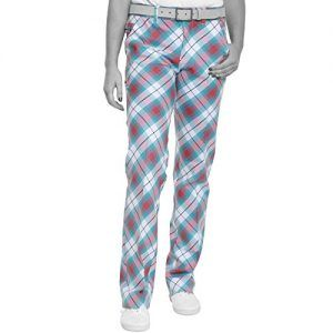 """Royal Awesome &Women """"s Well Ladies'Trousers Plaid Multi-Coloured…"""