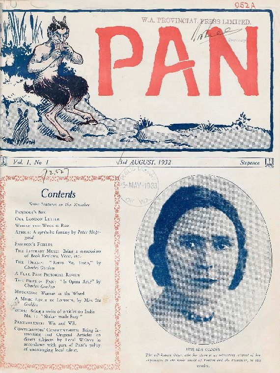 Pan, 1932.