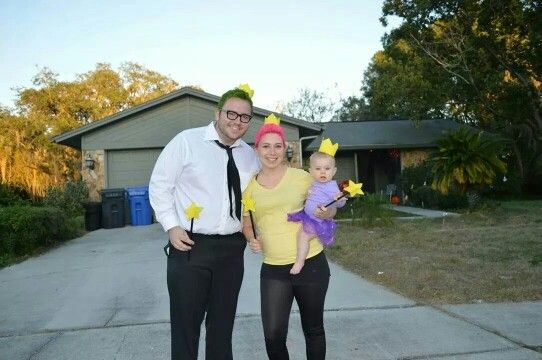 Fairly odd parents Halloween costumes! Cosmo, wanda and poof!