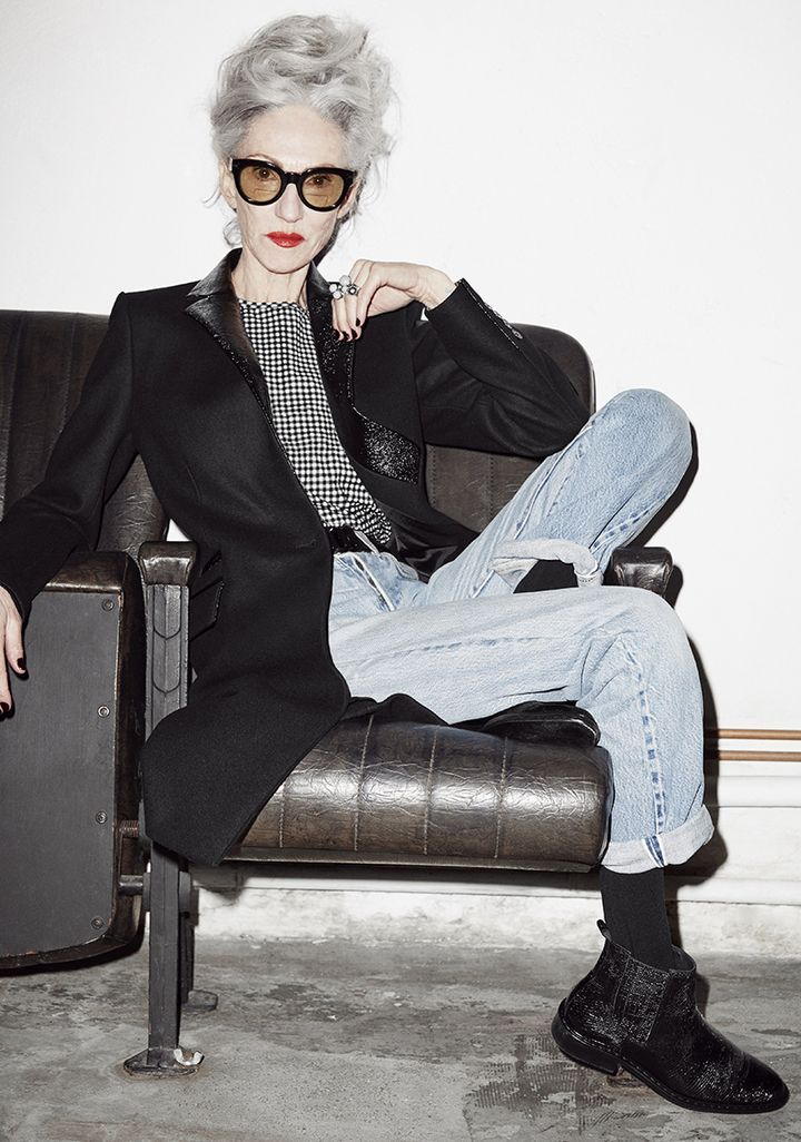 Linda Rodin This is my style icon - want to look like this in 20 years This woman is almost 70 - she looks fantastic