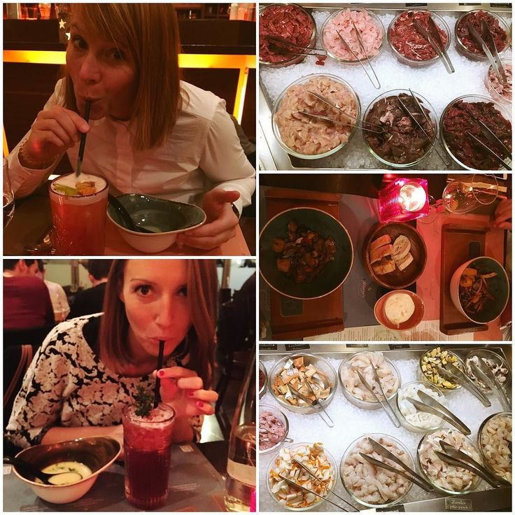 """This time last week...Birthday feasting with @lina_fisr Totaly stuffed after 3 trips to the """"all you can eat"""" buffet & soup at Mongo's BBQ restaurant...well I had to try all the exotic meats! #happy #yum #birthday #mycameraeatsfirst #foodie #friends #mongos #minga #munich #munichinside #mymunich"""