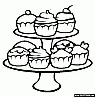 cute birthday cupcake coloring pages free printable pictures coloring pages for kids on