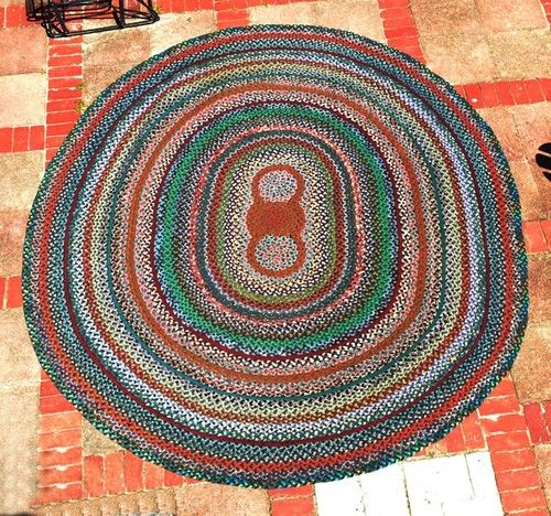 1000+ Images About Vintage Braided Rugs On Pinterest