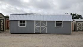 12'x32 Side Lofted Barn storage shed portable building. In Stock for Quick Delivery Cash or No Credit check Rent...