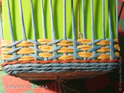 Поделка изделие Плетение Восточные мотивы Салфетки Трубочки бумажные фото 7