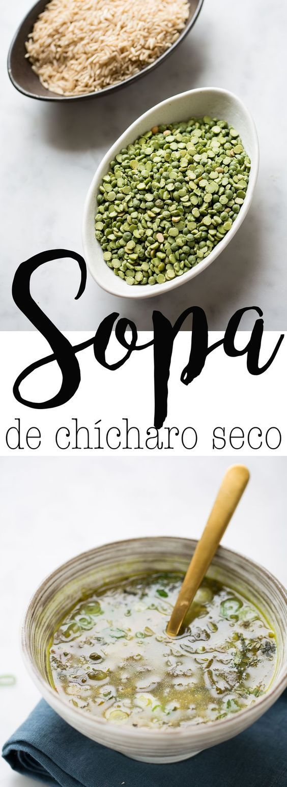 Receta de sopa de chícharo seco. Fácil y rápida. LA puedes hacer en la instapot o sosbre la estufa | sopas & caldos! | | sopas para el frío | | sopas,cremes e caldinho | http://www.piloncilloyvainilla.com/