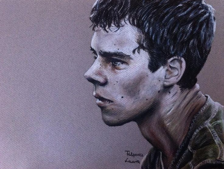 Dylan O'Brien (Thomas from Maze Runner) by Laura Filipovics