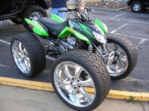 Four Wheelers With Rims >> Pin by Chris Kuhlman on 4 wheelers on rims | Pinterest