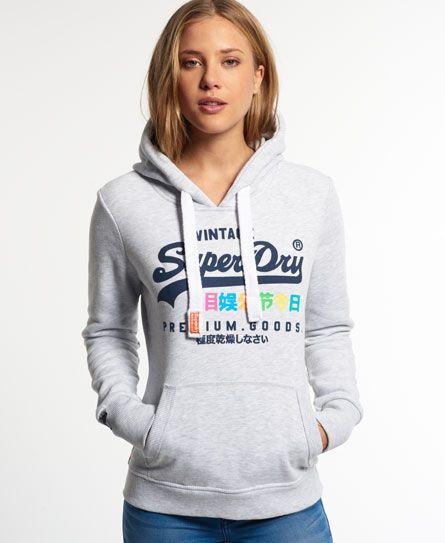 Superdry Premium Goods entry hoodie