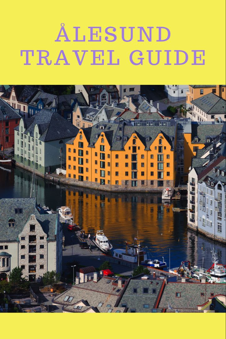 Alesund cruise port guide.