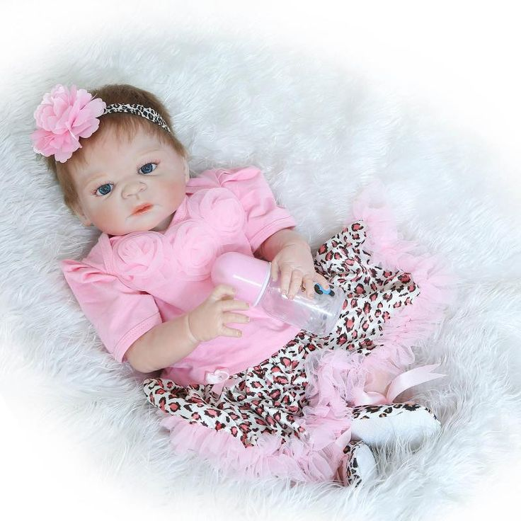 GentleTouched Blue Eyes Reborn Baby Girl Doll