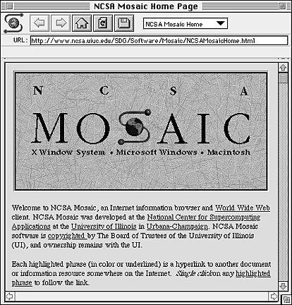 1993. Se crean los primeros  servidores web y el  navegador Mosaic.