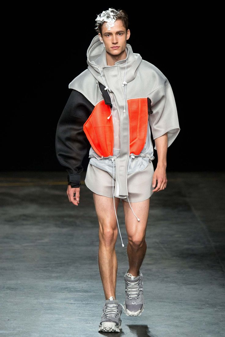 Christopher Shannon Spring 2016 Menswear - Collection - Gallery - Style.com (Pastel Hair Men)