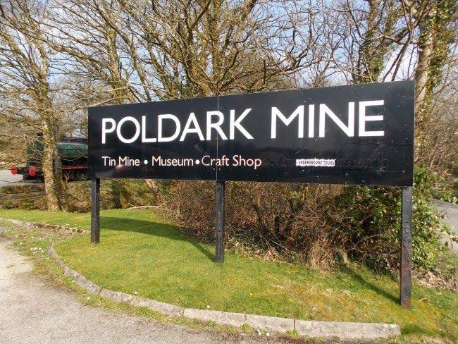 Poldark Mine Sign - A Cornish Mum Blog