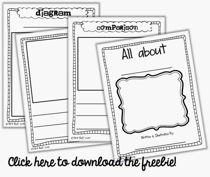 "FREEBIE Informational Writing Booklet ..........Follow for free ""too-neat-not-to-keep"" teacher tools & other fun stuff :)"